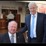 Graham Edwards, President RSLWA and Jock Barker, Mayor of Town of Claremont